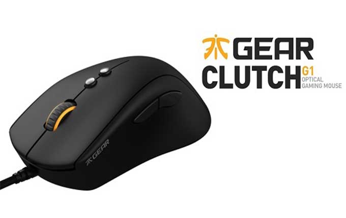 Fnatic Gear Clutch souris gamer professionnelle à conception ergonomique
