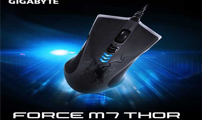 Gigabit GM-Force M7 Thor Souris Gamer laser ergonomique et performant