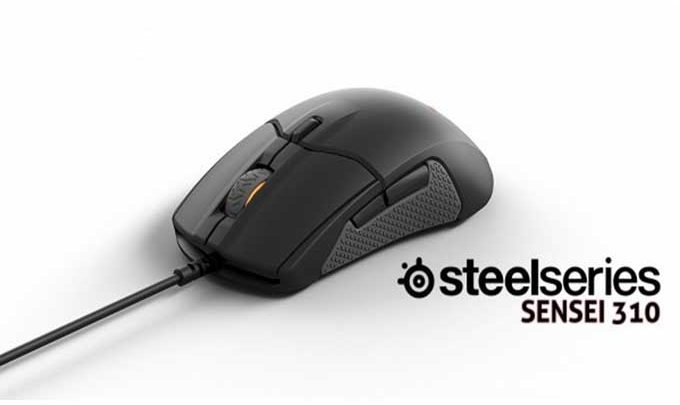 Steelseries Sensei 310 : souris gamer ultra performante à prise en main ambidextre