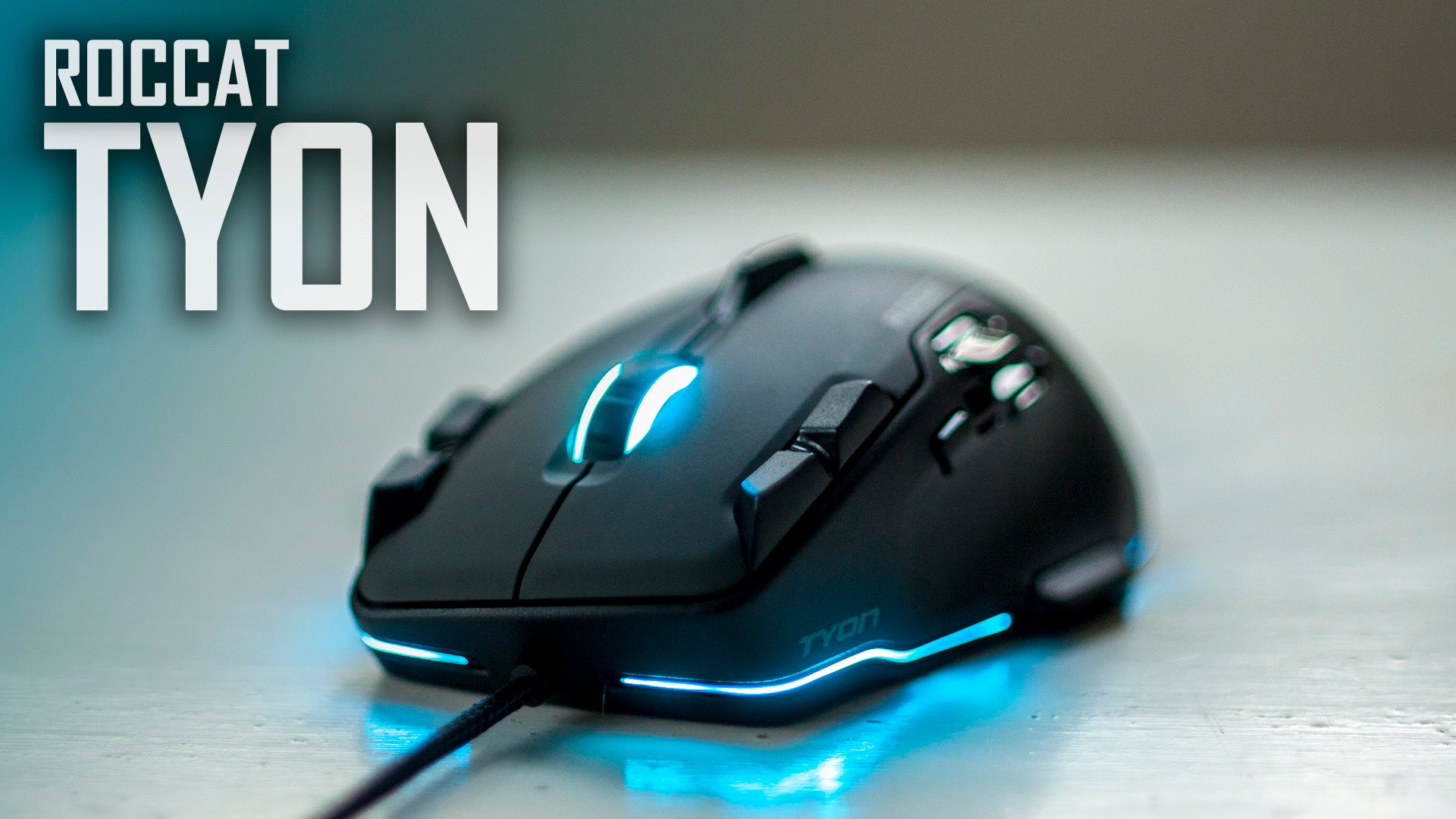 Test de la souris gaming Roccat Tyon